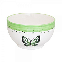 Салатник SUMMER JOY GREEN 14см
